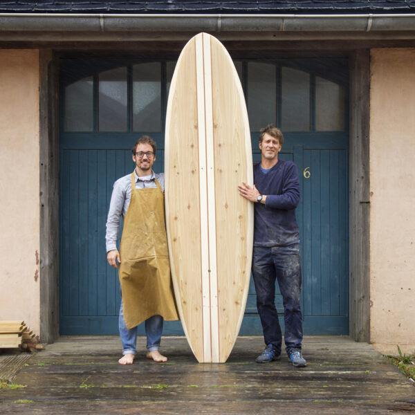 David and James 8'6 Dory Wooden Paddleboard 8th May 2017