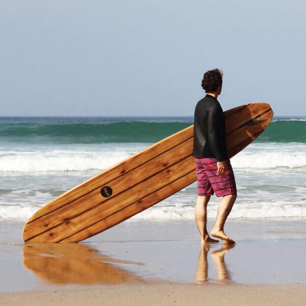 otter wooden surfboard pier longboard product
