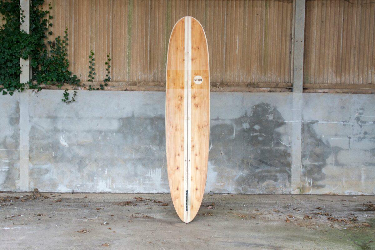 otter wooden surfboard wicket longboard product