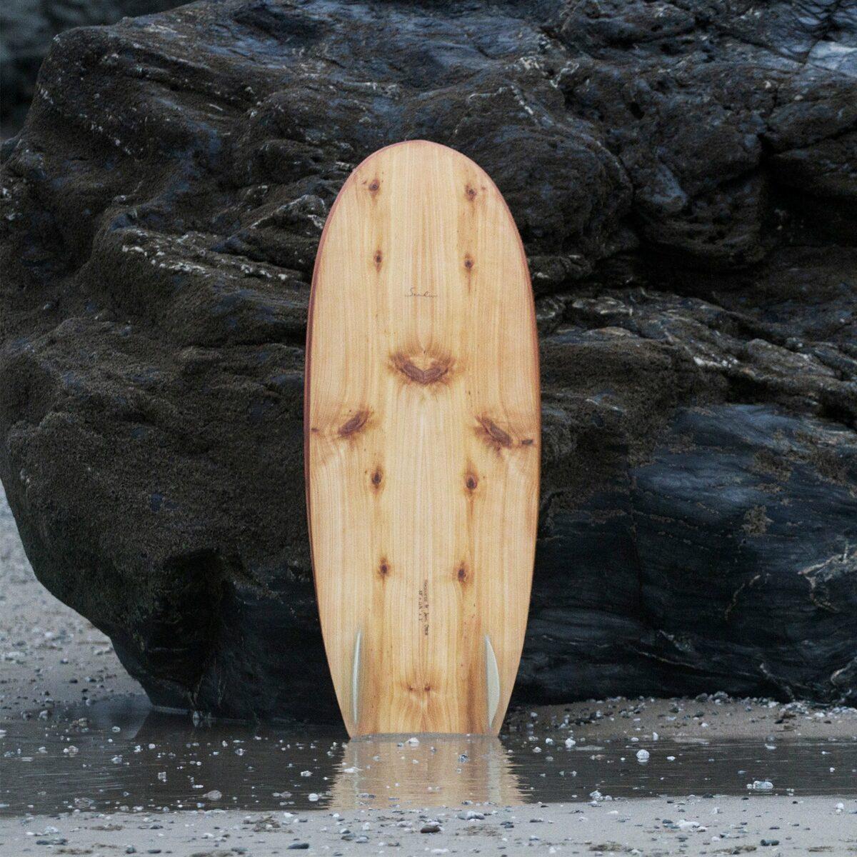 otter wooden surfboard seadar mini simmons product
