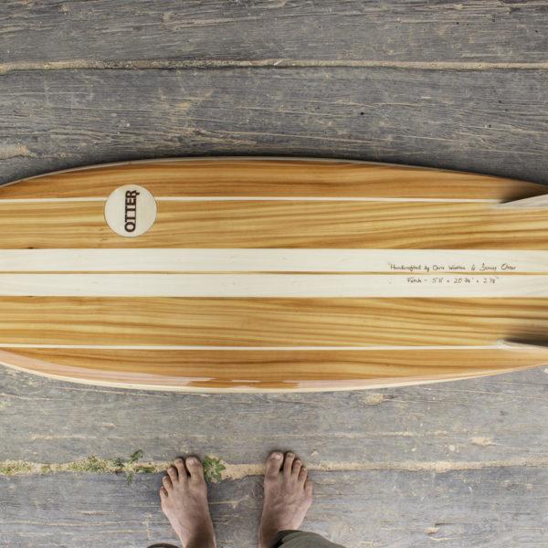 Fetch otter surfboards wooden surfboard workshop cornwall