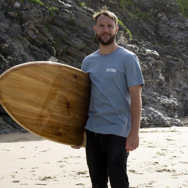 Citadel Blue Otter Surfboards T-shirt3