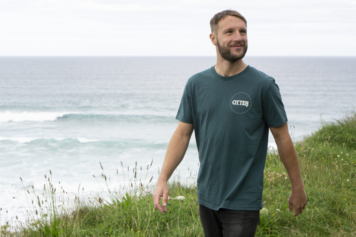 Glazed Green Otter Surfboards T-shirt2