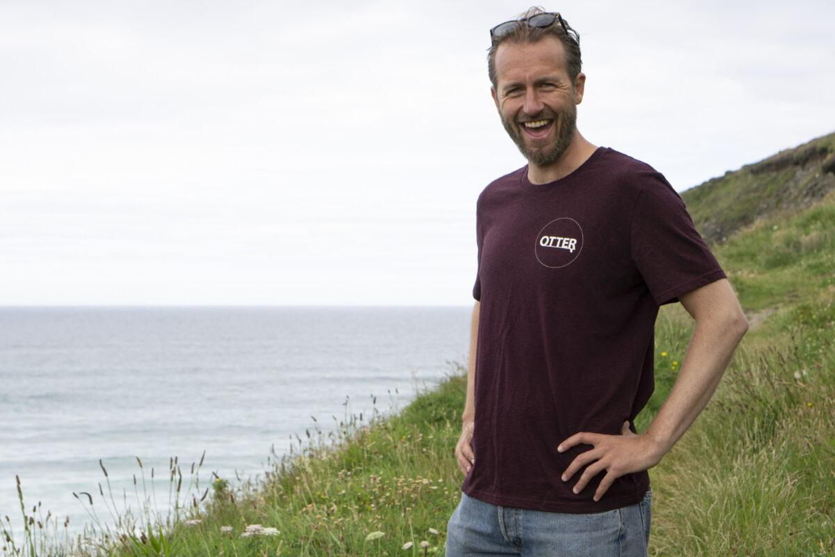 Grape Red Otter Surfboards T-shirt4