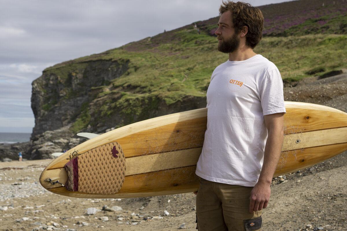White Otter Surfboards T-shirt2