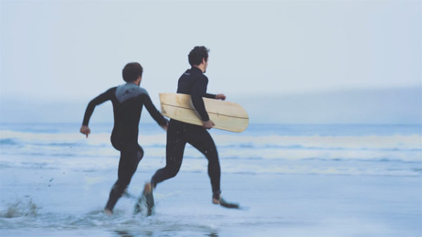 Bellyboarding and Bodysurfing Before Breakfast 2016