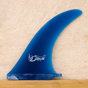 George Greenough 4A single surf fin blue