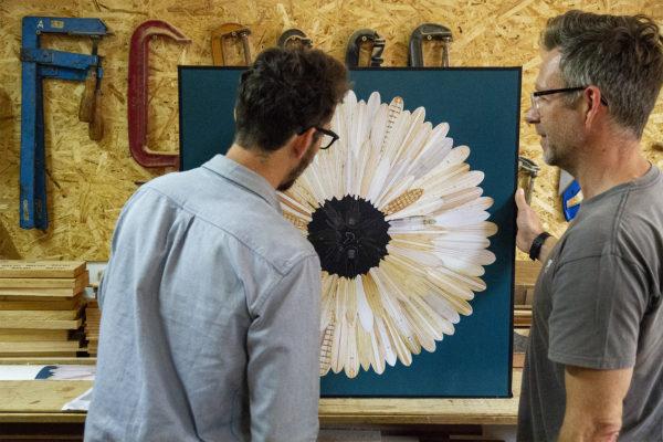 Ben Cook Surf Flower Wooden Surfboards with James Otter