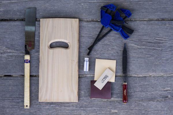 01 Adult-handplane-full-kit2 how to make a wooden bodysurfing handplane otter surfboards