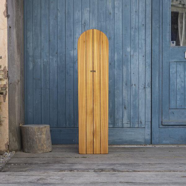 Triple Dark Traditional Wooden Bellyboard