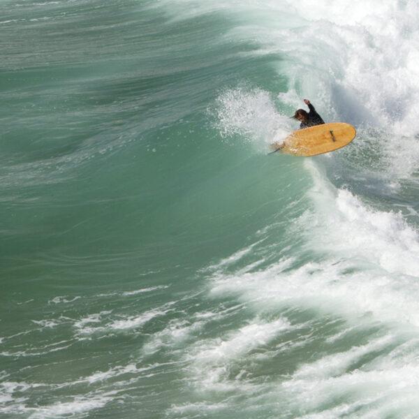 Ben Skinner National Trust Jetty Otter Wooden Surfboard