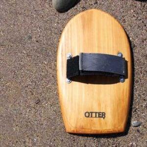 otter wooden bodysurf handplane bob