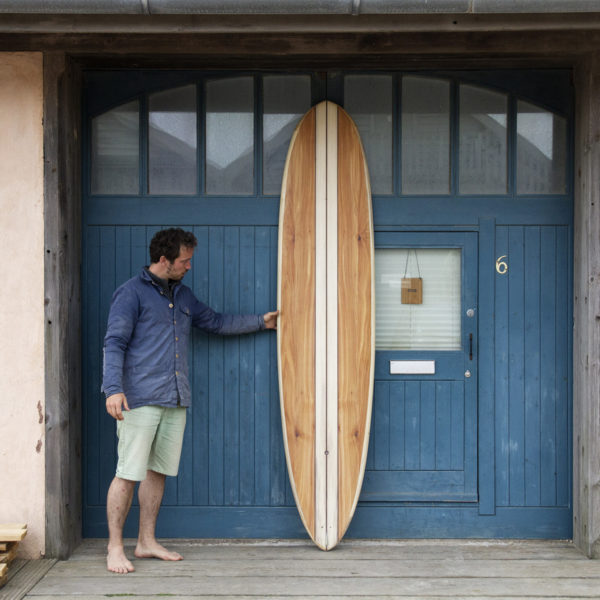 Otter Wooden Surfboard Pieces of Eight Workshop