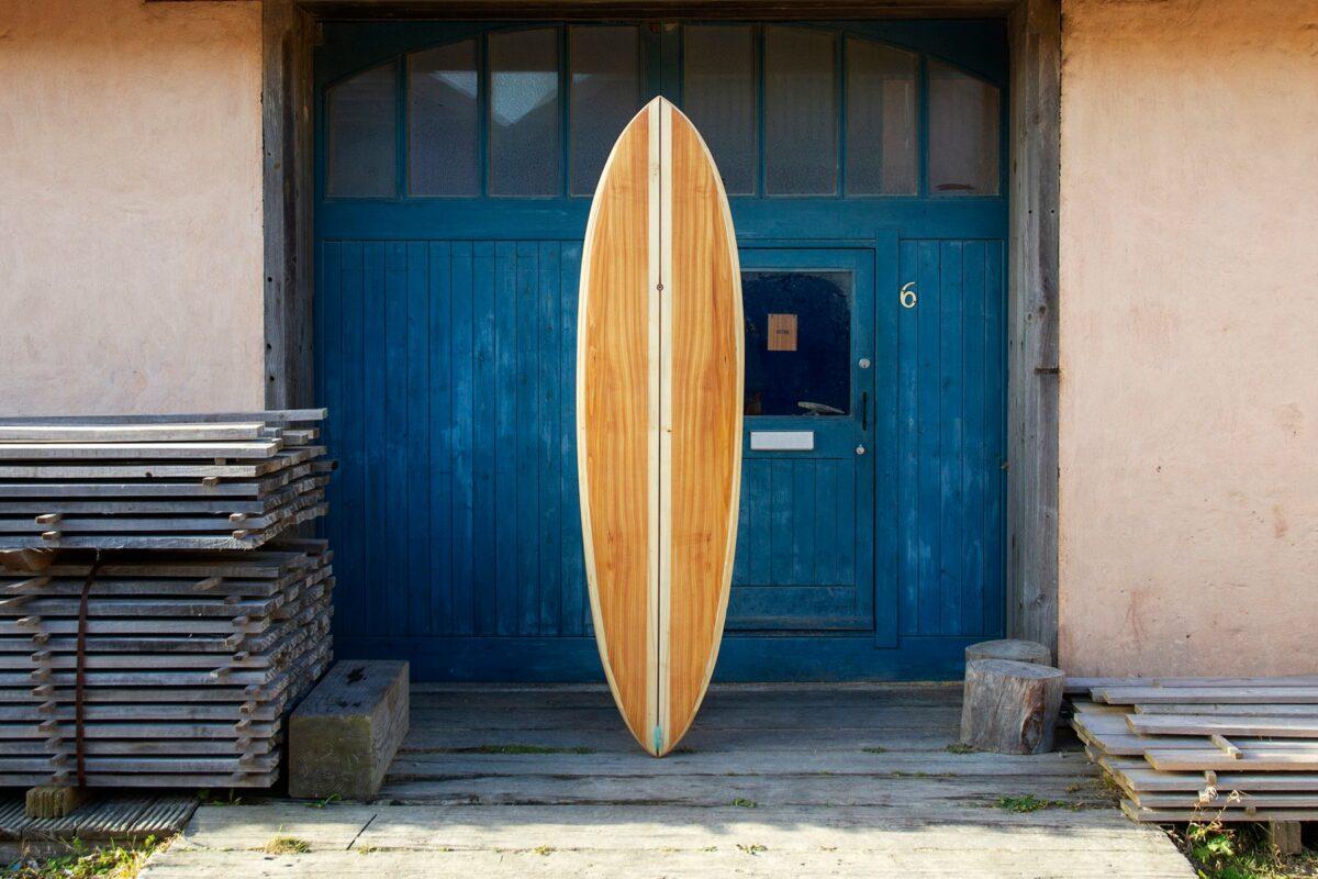 Otter Wooden Surfboard Roller Coaster Workshop