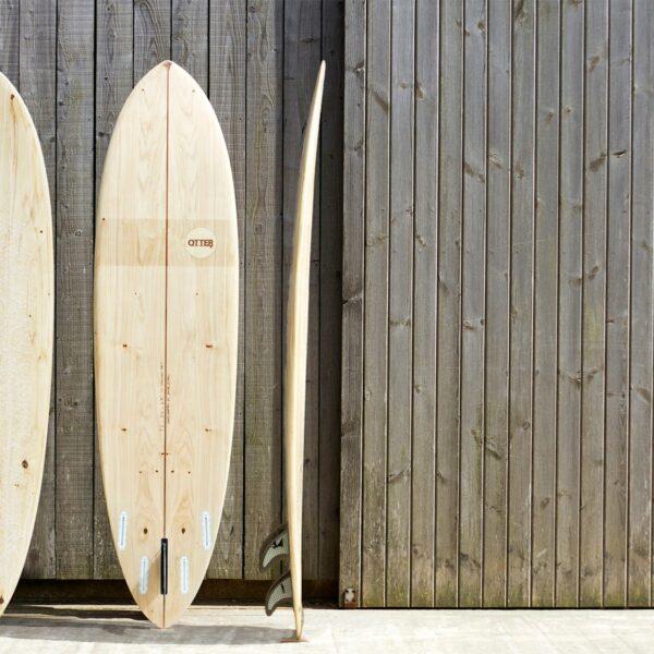 Otter Wooden Surfboard Coaster Workshop