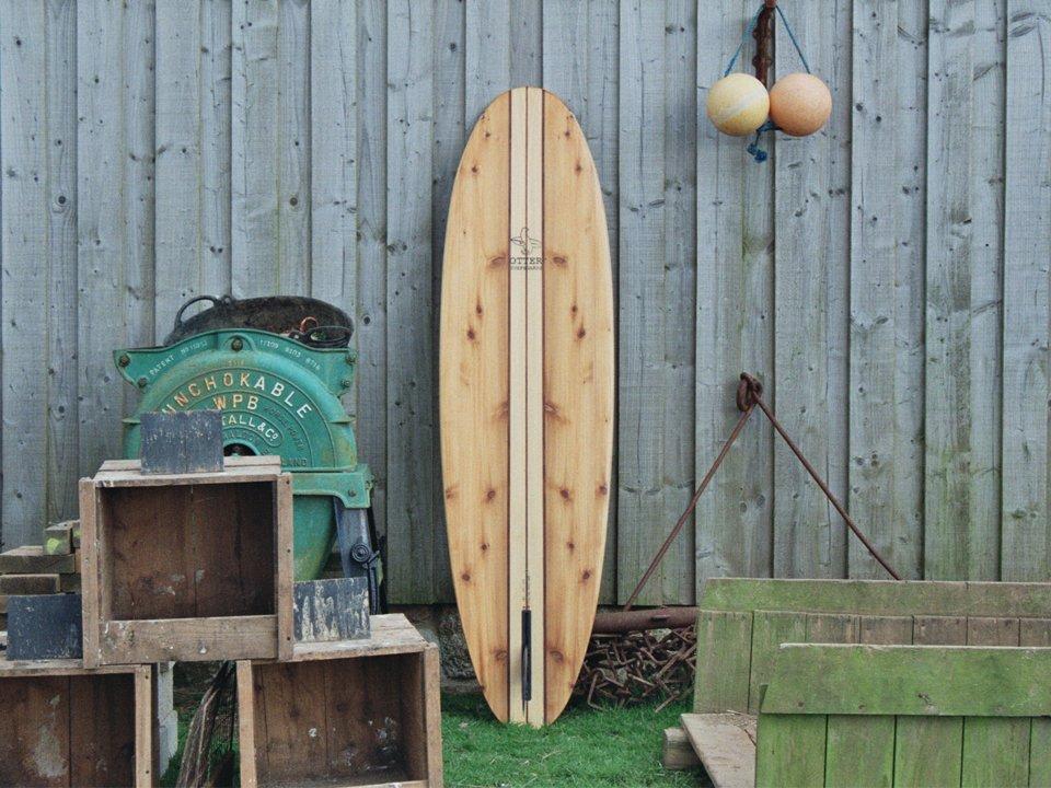 Otter Wooden Surfboard Jetty Workshop