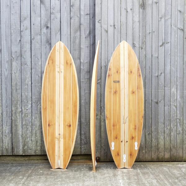 Otter Wooden Surfboard Swift Workshop