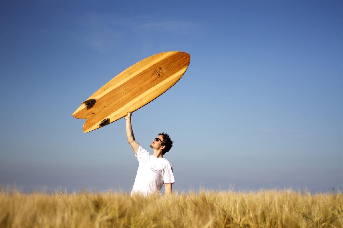 Otter Wooden Surfboard Fetch Workshop
