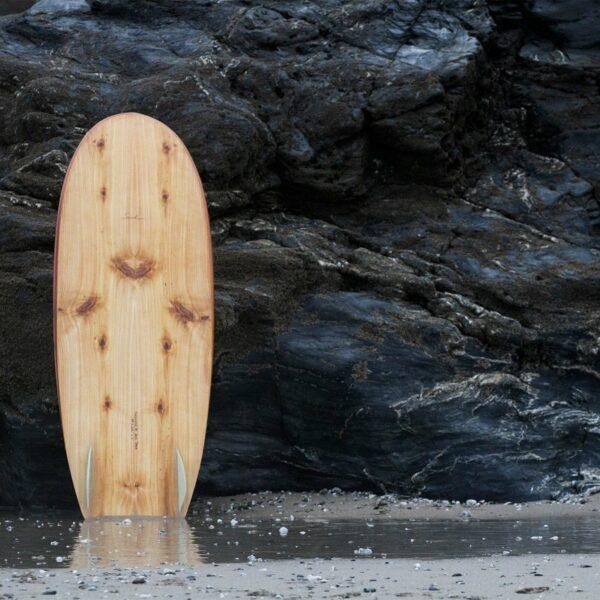 Otter Wooden Surfboard Seadar Workshop