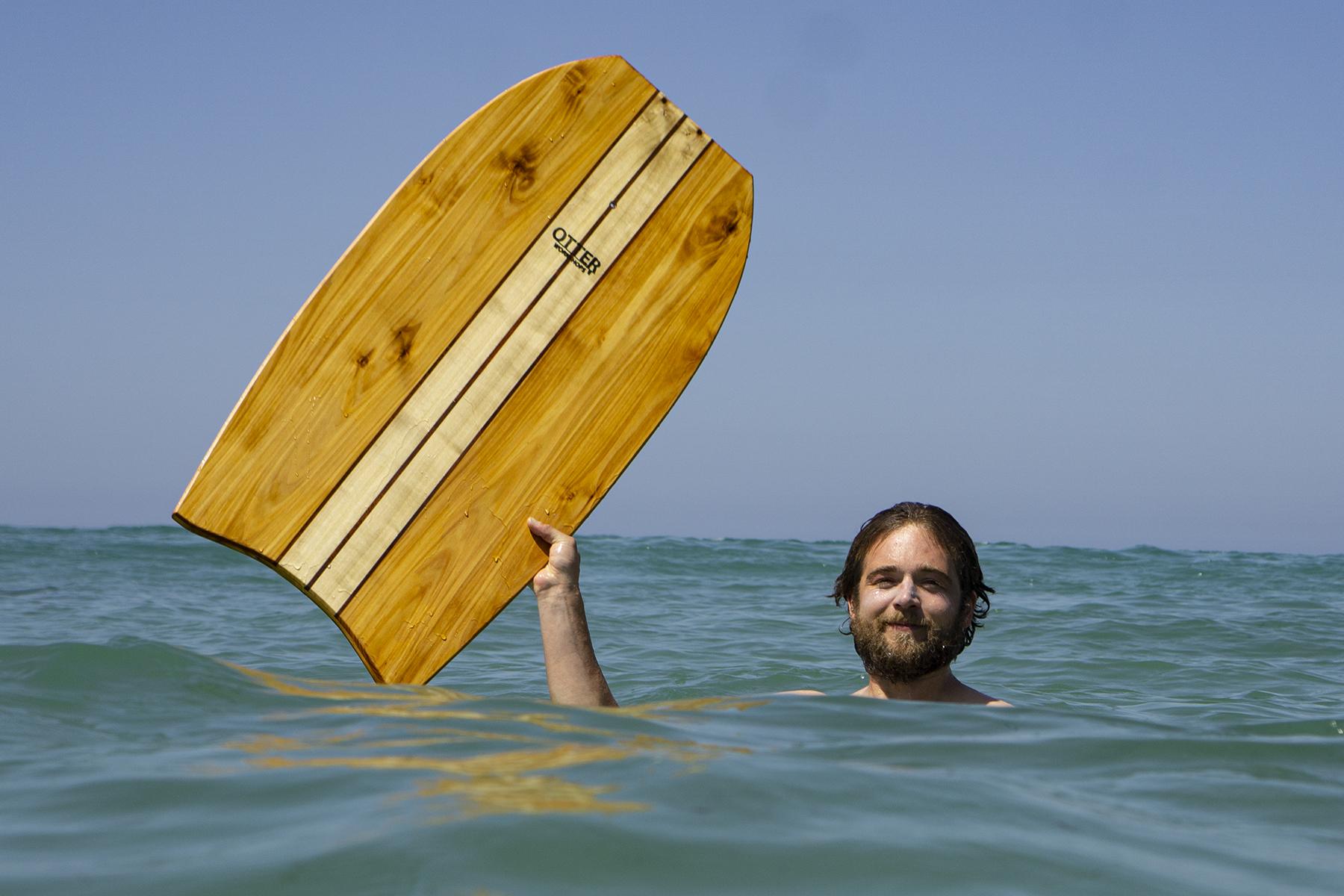 Otter wooden bodyboard